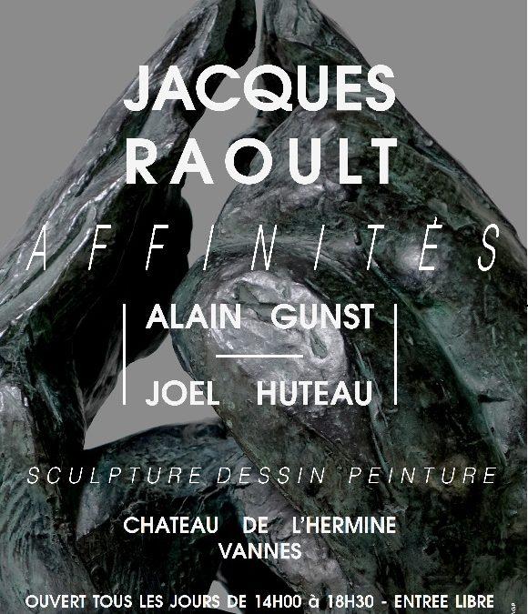 L'affiche de l'exposition AFFINITES