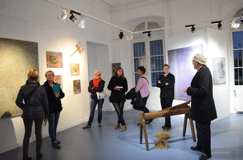 mardi 15 novembre : rencontre des artistes avec les enseignants