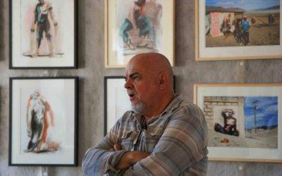 Exposition Paul Bloas à Vannes : Performance Ligne de Front